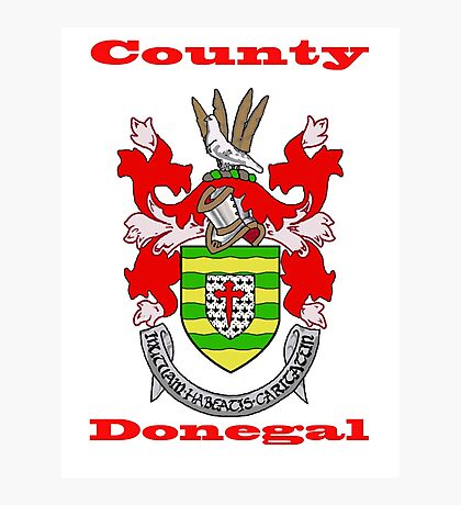 County Donegal Coat of Arms Photographic Print