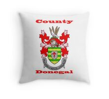County Donegal Coat of Arms Throw Pillow