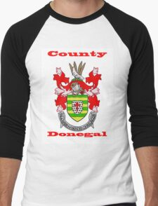 County Donegal Coat of Arms Men's Baseball ¾ T-Shirt