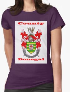 County Donegal Coat of Arms Womens Fitted T-Shirt