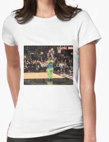Aaron Gordon Slam Dunk Contest 2016 Womens Fitted T-Shirt