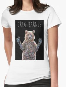 Greg The Bear  Womens Fitted T-Shirt