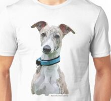 Low Poly Art - Whippet Unisex T-Shirt
