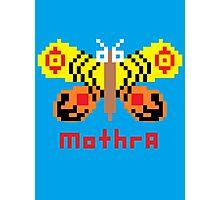 Mothra Pixel Photographic Print