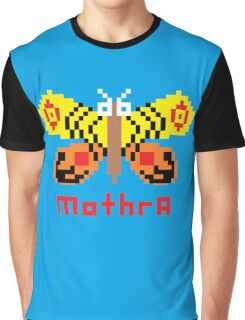 Mothra Pixel Graphic T-Shirt