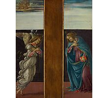 Botticelli  - Annunciation 1495 Woman Portrait  Photographic Print