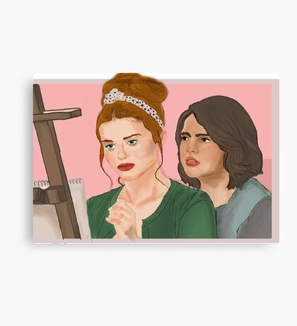 What's that smell? [Malia&Lydia] Canvas Print