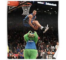 Aaron Gordon Slam Dunk Contest 2016 Poster