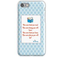 The more you read iPhone Case/Skin