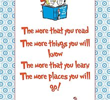 The more you read by LittleRedTrike