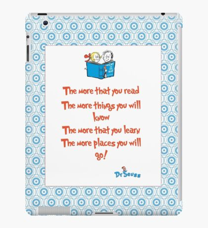 The more you read iPad Case/Skin
