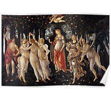 Botticelli  - La Primavera Spring 1481 - 1482 Poster