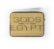 Gods of Egypt the movie logo - all of creation is at stake Laptop Sleeve