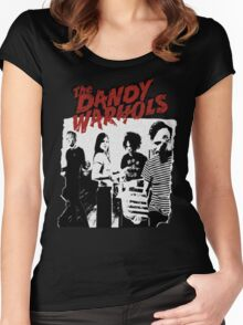 The Dandy Warhols T-Shirt Women's Fitted Scoop T-Shirt