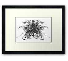 Aero Inkblot Framed Print