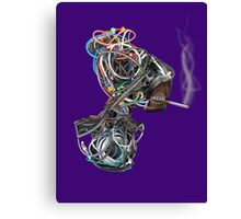 Wilma the Wire Woman Canvas Print