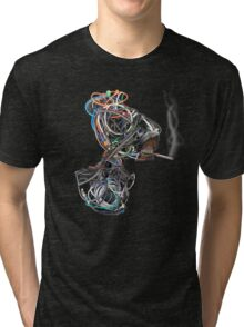 Wilma the Wire Woman Tri-blend T-Shirt
