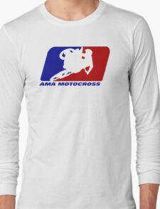 AMA motocross superbikes motorbike heather Long Sleeve T-Shirt