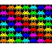 Space Invaders Photographic Print