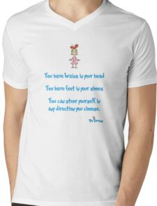 Yo have brains Mens V-Neck T-Shirt