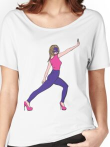 Supergirl fashion hero Women's Relaxed Fit T-Shirt