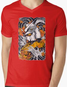 Gundam Mens V-Neck T-Shirt