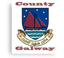 County Galway Coat of Arms Canvas Print