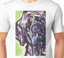English Mastiff Bright colorful pop dog art Unisex T-Shirt