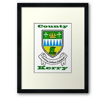 County Kerry Coat of Arms Framed Print