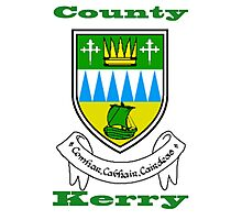 County Kerry Coat of Arms Photographic Print
