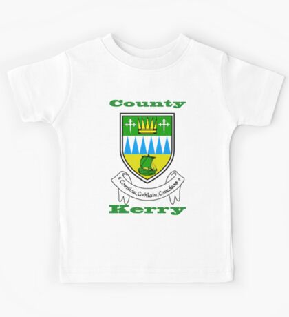 County Kerry Coat of Arms Kids Tee