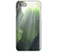 Sunlight Streaming Into a Cave iPhone Case/Skin