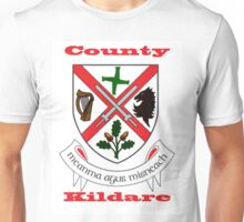 County Kildare Coat of Arms Unisex T-Shirt
