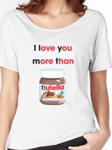 I LOVE YOU MORE Women's Relaxed Fit T-Shirt