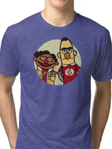Big Bang Theory Muppets PARADOX Sheldon Copper Tri-blend T-Shirt