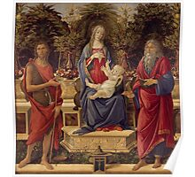 Botticelli  - Madonna with Saints 1485 Poster
