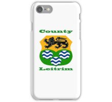 County Leitrim Coat of Arms iPhone Case/Skin