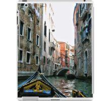 Gondola Ride - Venice  iPad Case/Skin