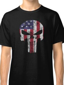I am only in a jeep USA American Punisher Classic T-Shirt
