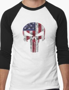 I am only in a jeep USA American Punisher Men's Baseball ¾ T-Shirt