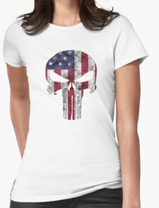 I am only in a jeep USA American Punisher T-Shirt