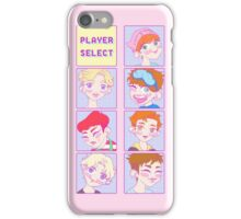 Monsta X CHARACTER SELECT VERSION  iPhone Case/Skin