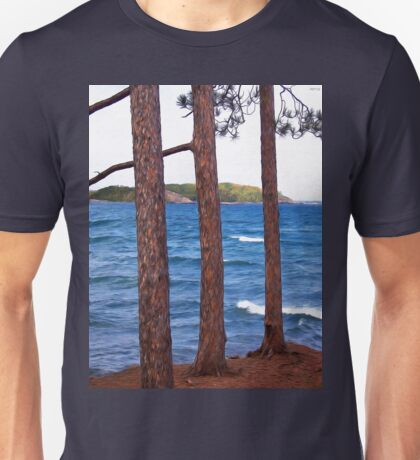 Lake Superior Landscape Unisex T-Shirt