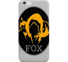 FOX MGS iPhone Case/Skin
