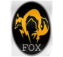FOX MGS Poster