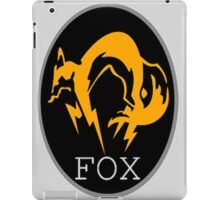 FOX MGS iPad Case/Skin