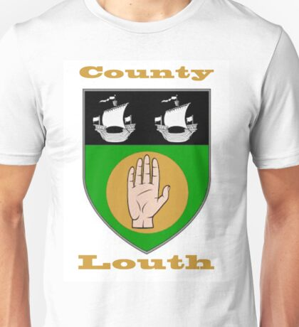 County Louth Coat of Arms Unisex T-Shirt