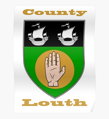 County Louth Coat of Arms Poster