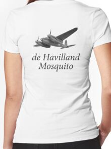 Mosquito, De Havilland, Wold War II, British, multi-role, combat, aircraft Women's Fitted V-Neck T-Shirt