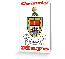 County Mayo Coat of Arms Greeting Card